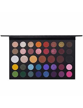 James Charles Artist Palette Eye Shadow Powder, Ucanbe 39 Colours Nude Shimmer Matte Eyeshadow Palette Glitter Metallic Waterproof Powder Smooth Natural Brilliant Beauty Eye Shadow Cosmetics Kit (A1) by Aesy