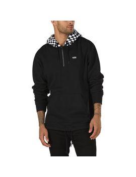 Warp Check Quarter Zip Pullover by Vans