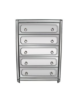 5 Drawer Chest by Best Master Furniture