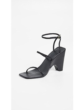 Woven Strappy Wedges by Jaggar