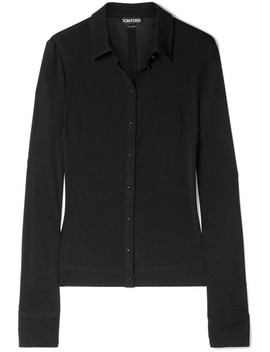 Stretch Jersey Shirt by Tom Ford