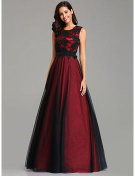 Ever Pretty Us Long Mesh Cocktail Prom Gown Bridesmaid Lace Evening Party Dress by Ever Pretty