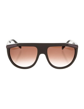 Shield Tinted Sunglasses by Balmain