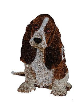 Application Dsx Dogs Basset Hound Patch by Application