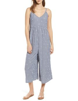 Embroidered Wide Leg Jumpsuit by Bp.