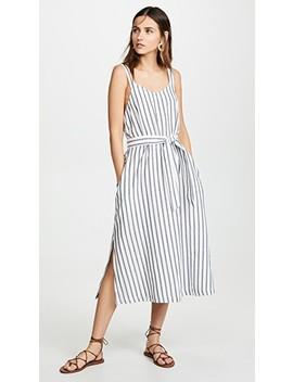Stripe And Dot Dress by Three Dots