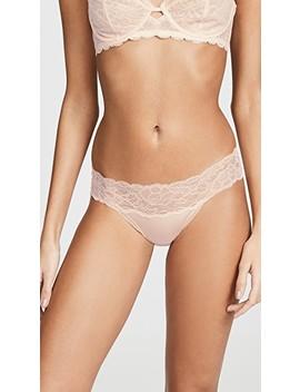 Seductive Comfort With Lace Bikini by Calvin Klein Underwear