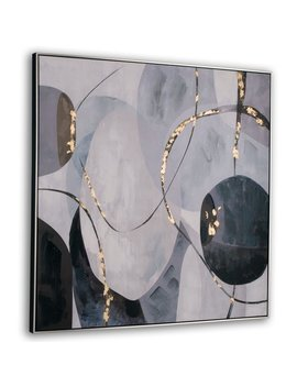Graphite Framed Canvas by Gild Design House