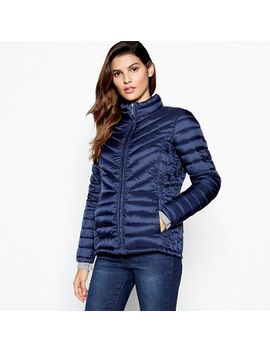 Principles   Navy Super Light Puffer Jacket by Principles