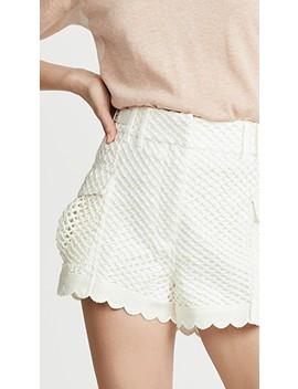 Crochet Shorts by Self Portrait