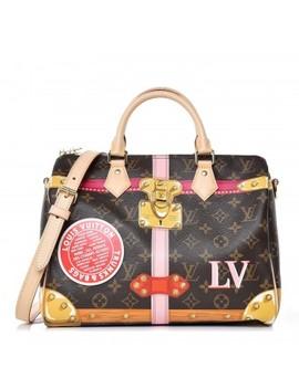 Louis Vuitton Monogram Summer Trunks Speedy Bandouliere 30 by Louis Vuitton