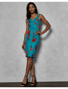 Fantasia Panel Bodycon Dress by Ted Baker