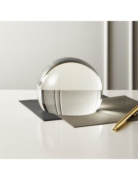 Crystal Dome Magnifier by Crate&Barrel