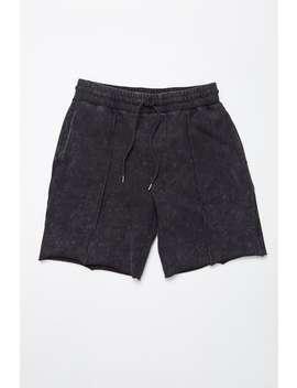 Acid Wash Drawstring Shorts by Forever 21