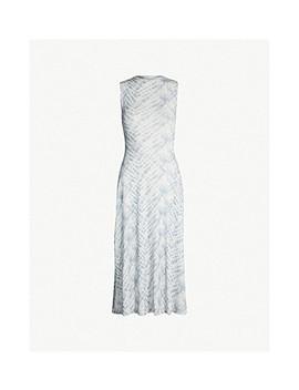 Tie Dye Mesh Sleeveless Dress by Topshop