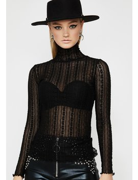 Worst Witch Lace Top by