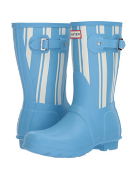 Original Garden Stripe Short Rain Boots by Hunter