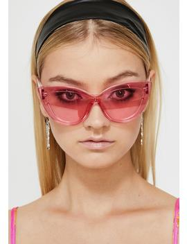 High Glamour Gossip Oversized Sunglasses by