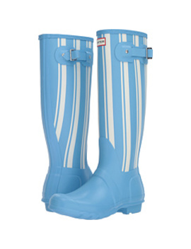 Original Garden Stripe Tall Rain Boots by Hunter