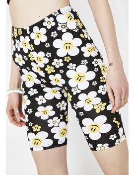 Hazy Daisy Biker Shorts by Current Mood