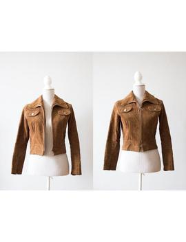 Amazing Brown Corduroy Jacket Size S by Etsy