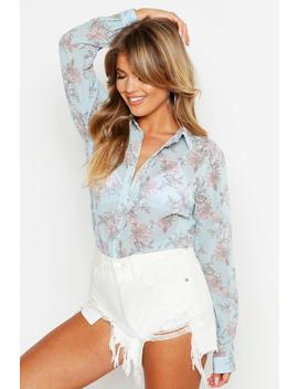floral-top by boohoo
