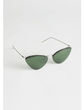 Frameless Cat Eye Sunglasses by & Other Stories