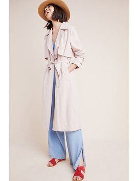 Blush Trench Coat by Greylin