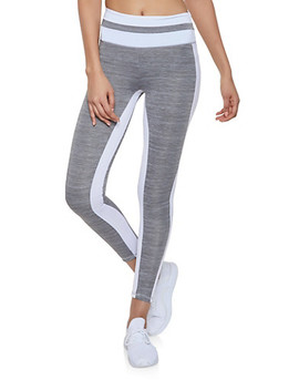 Color Block Activewear Leggings | 1058038347671 by Rainbow