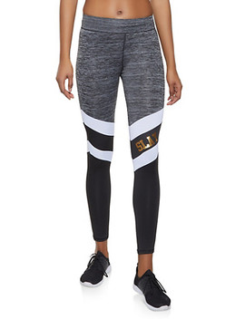 Slay Color Block Activewear Leggings by Rainbow