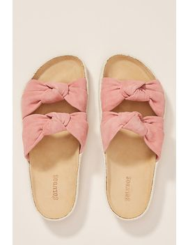 Soludos Pink Knotted Summer Sandals by Soludos