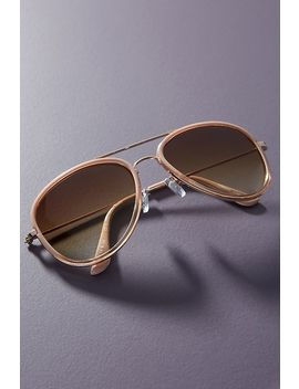 Elizabeth Aviator Sunglasses by Glance