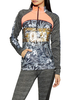 Love Graphic Activewear Sweatshirt by Rainbow