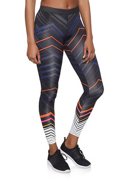 Chevron Activewear Leggings by Rainbow