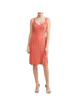 Women's Button Detail Dress by Love Sadie