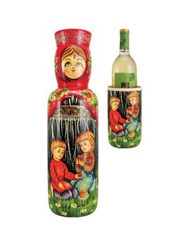 The Holiday Aisle Fifer Children 1 Bottle Tabletop Wine Rack by The Holiday Aisle