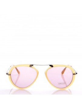 Tom Ford Aaron Aviator Sunglasses Tf473 Yellow by Tom Ford