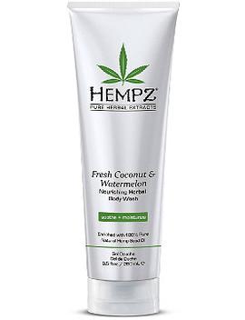 Fresh Coconut & Watermelon Nourishing Herbal Body Wash by Hempz