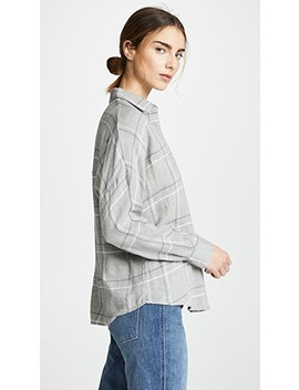 Bar Plaid Popover Shirt by Vince