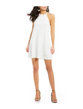 High Neck Trapeze Dress by Moa Moa