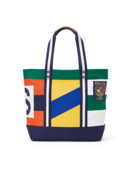 Rugby Canvas Tote by Ralph Lauren