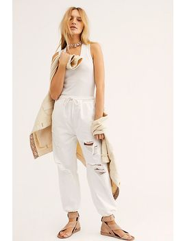 Sloane Destructed Joggers by Free People