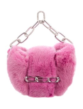 Mini Mink Handle Bag W/ Tags by Alexander Wang