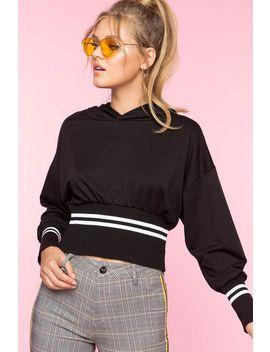 Raven Contrast Sweatshirt by A'gaci
