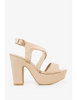 Margarita Platform Heel by A'gaci
