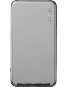 Power8 Apple Certified Portable Charger With Lightning Input   Gray by Ubio Labs