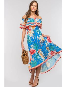 Ibiza Off Shoulder Maxi by A'gaci