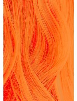 Uv Reactive 320 Neon Orange Hair Dye by Iroiro