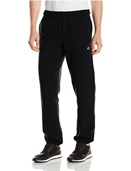 Champion Men's Powerblend Relaxed Bottom Fleece Pant by Champion