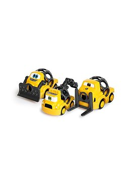 Oball Go Grippers John Deere Construction Crusiers Push Vehicles Set, Ages 12 Months + by Oball